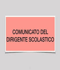 Comunicato della Dirigente Scolastica Rita Trocino