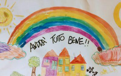 """UN ARCOBALENO PER DIRE CHE… """"ANDRÀ TUTTO BENE"""""""