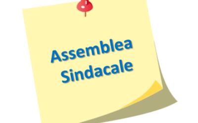 Circolare 469 Assemblea Sindacale di tutto il Personale Scolastico del 13 maggio