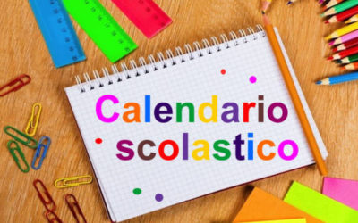 MODIFICA CALENDARIO  SCOLASTICO 2019/20