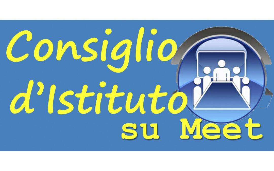 CONVOCAZIONE CONSIGLIO DI ISTITUTO DEL 30/06/2020