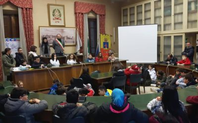 L'insediamento del Consiglio Comunale dei Ragazzi – 24/01/2019