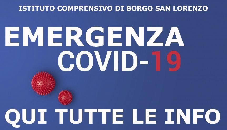 Creata una pagina sull'Emergenza Covid – 19 qui sul nostro sito: tutte le informazioni