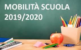 Mobilità del personale della scuola a.s. 2019-2020