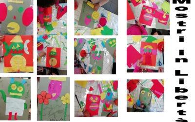 """Alcune creazioni dei bambini all'interno dell'iniziativa """"Leggo per…"""""""