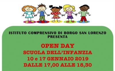 Open Day Scuola dell'Infanzia