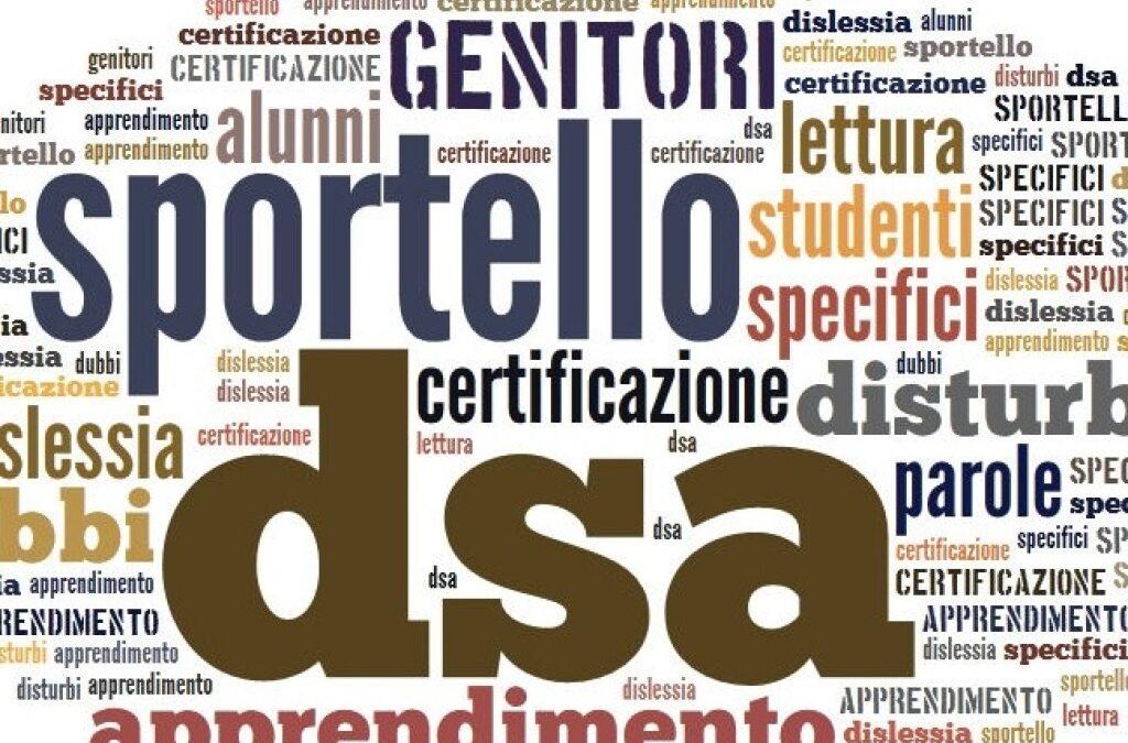 SPORTELLO DSA  ANNO SCOLASTICO 19/20