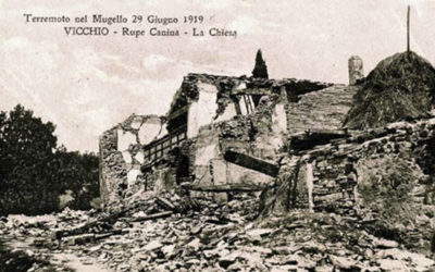 29/6/2019: Terremoto Mugello 1919 – 2019